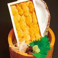 料理メニュー写真板ウニ(1枚)