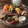 料理メニュー写真野菜が主役の前菜盛合せ from Turkey France India