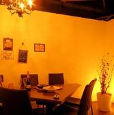 テーブル席の個室は3部屋ご用意♪写真の個室以外にもソファー席個室もご用意しております★