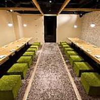 各種宴会に最適なお席と空間をご完備しております!