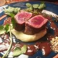 料理メニュー写真鹿肉のロースト
