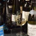 ワインも豊富に取り揃えてます!