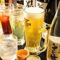 ≪豊富なドリンクメニュー≫絶品信州料理と相性抜群のドリンクを豊富に取り揃えております!生ビール・カクテル・梅酒はもちろんのこと、珍しいそば焼酎や長野の地酒もお楽しみいただけます。また、とにかくたくさんお酒を飲みたいお客様におすすめの単品飲み放題メニューご用意しておりますので是非ご利用ください!