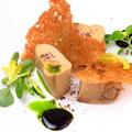 料理メニュー写真フォアグラのコンフィ バルサミコソース