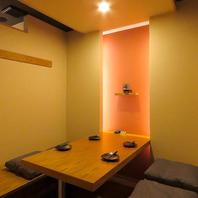 【完全個室】ゆったりと寛ぎの掘りごたつ個室