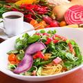 料理メニュー写真鎌倉野菜のスパゲッティセット ※ドリンク付き
