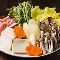 料理メニュー写真鍋物 追加野菜