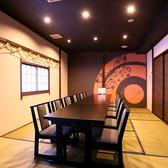 2Fテーブルタイプのお座敷個室
