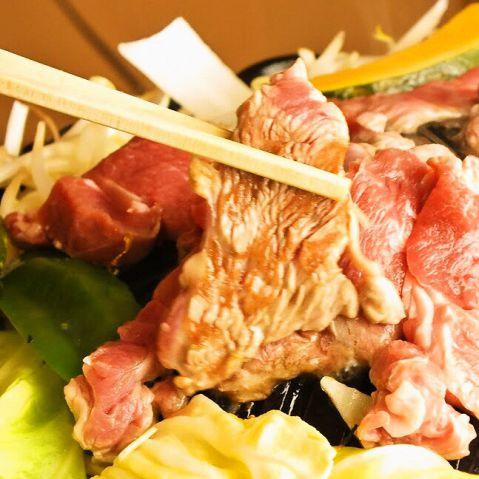 ジンギスカン食べ放題コース2480円