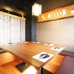 人数に応じた素敵な個室席をご用意させていただきます!