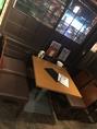 4名テーブル席が2つご用意しております!2名様~OK!