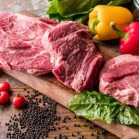 ■ 料理お肉は食肉卸から直接仕入れます!