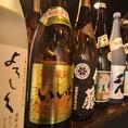 日本酒、焼酎も各種取り揃え!