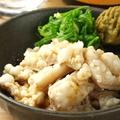料理メニュー写真酢もつ柚子胡椒