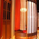 全席個室の為周囲を気にすることなくお食事をお楽しみいただけます。京都感漂うお洒落空間なので、デートや接待、観光などにもお勧めです★