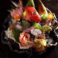 超新鮮!!鶏魚ゆう自慢の鮮魚盛合わせ