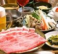料理メニュー写真【一品付】しゃぶしゃぶ宴会コース3,000円(税込)~