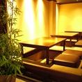 12名個室のお席です。10名前後の個室利用におすすめです。