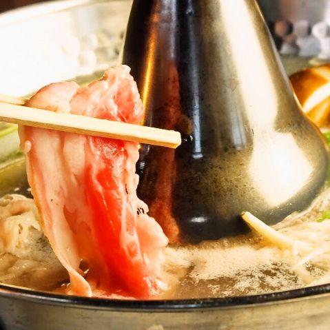 【牛・生ラムもOK♪】ラム・牛しゃぶしゃぶ食べ放題コース2480円