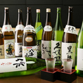 日本酒、焼酎をご用意しております。その数、約60種!もちろん、お酒が得意な方にも苦手な方にもお楽しみいただけるような豊富なラインナップのお酒をご用意しておりますので、当店の単品肉料理などとご一緒にお愉しみください。