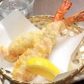料理メニュー写真大海老のパンチェッタ巻 2本