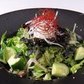 料理メニュー写真韓国風チョレギサラダ(ハーフ可)