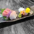 料理メニュー写真★鮮魚のお造り盛り合わせ5種★