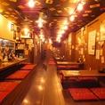 ホールに煙が出ない配慮が女性に人気の秘訣です。手元の広いカウンターが◎浦和で一番落ち着ける焼き鳥居酒屋です!浦和の焼き鳥居酒屋でゆっくり飲み放題がおすすめ!掘りごたつ・座敷・個室もご用意できます。