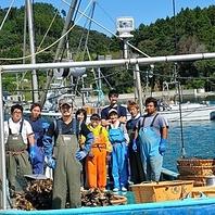 青森県産の海鮮も!産地直送の新鮮な魚介類