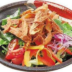 料理メニュー写真パリパリごぼうの胡麻サラダ