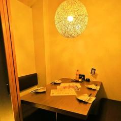 テーブル個室は合コン等にはぴったり!!2名様よりOK♪お得な飲み放題プランも多数ございます!