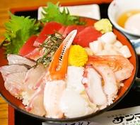 売り切れ御免!!日替わり海鮮丼セット【950円→850円】