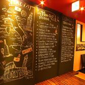 壁一面の黒板が素敵!!