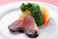 料理メニュー写真河内鶏のロティ