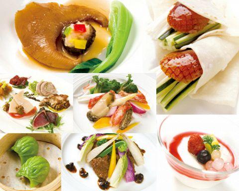 旬の素材を活かし、日本人好みにアレンジした新感覚の広東料理