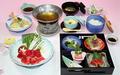 料理メニュー写真松花堂と牛味しゃぶ御膳