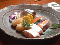 魚介・近江牛などの炭火焼