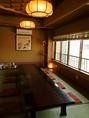 2階の海が眺められる人気の個室。