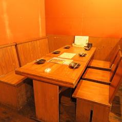 【禁煙】★2F 4名様テーブル席★