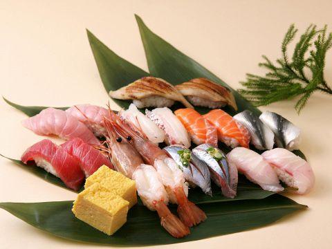 とれたて立喰い寿司 魚がし日本一 アトレ秋葉原店