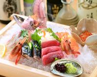 朝取れに拘り毎日金沢港・師崎港より新鮮な食材ご用意