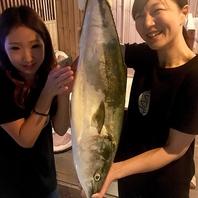 産地直送の新鮮な魚介類を豊富にご用意!!