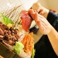 旬魚・鮮魚を職人が丁寧に一品一品捌きます※画像は一例です。