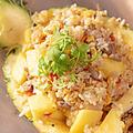 料理メニュー写真海鮮パイナップルチャーハン