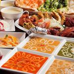《メニューが豊富!》カレーは辛さが調整できます★炭焼き肉各種、サモサなど家庭料理が味わえます。