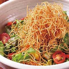 料理メニュー写真長崎皿うどんサラダ