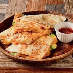 挽肉とアボカドのケサディーヤ Minced Meat & Avocado Quesadilla