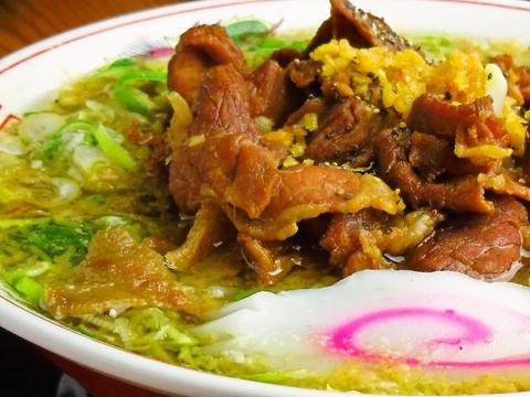 お肉屋さんが経営!お肉が美味しく、じっくり煮込んだスープが自慢のラーメン屋。