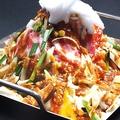 料理メニュー写真韓国ホルモン鉄角鍋