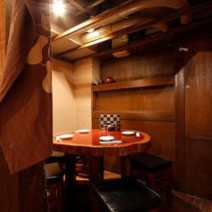 和風レトロな個室もございます!個室宴会や接待利用、デート利用にもご活用下さい!